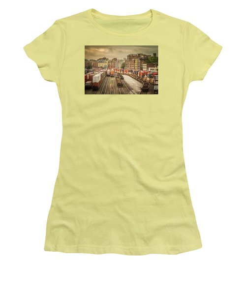 Busines End Of The City... Women's T-Shirt (Junior Cut) by Russell Styles