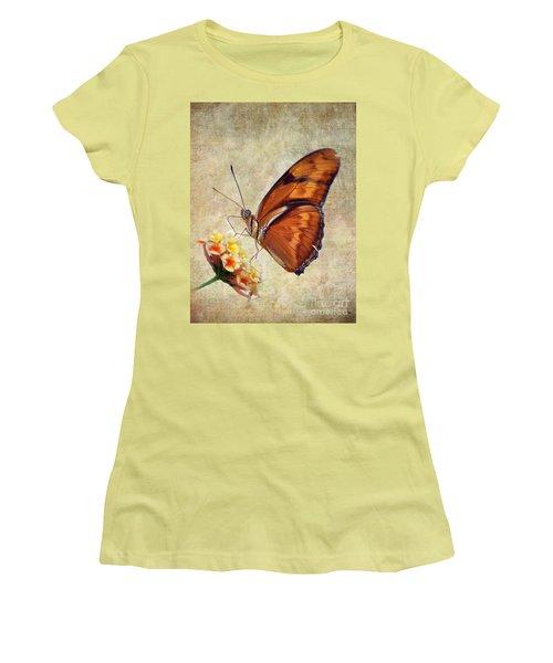 Butterfly Women's T-Shirt (Junior Cut) by Savannah Gibbs