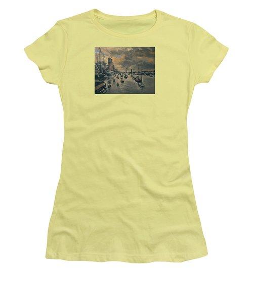 Bye Bye Sail Amsterdam Women's T-Shirt (Athletic Fit)