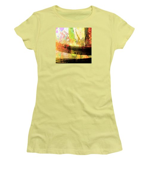 Women's T-Shirt (Junior Cut) featuring the photograph C D Art by Bob Pardue