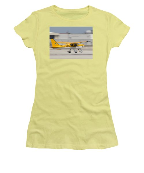 C-fgql Aircraft Women's T-Shirt (Athletic Fit)