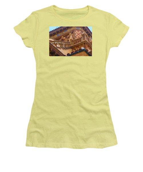 Ca' D'zan Detail Women's T-Shirt (Junior Cut) by Susan Molnar