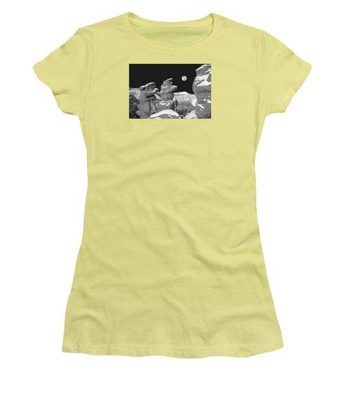 Cabrakan, The Mayan God Of Mountains  Women's T-Shirt (Junior Cut) by Bijan Pirnia