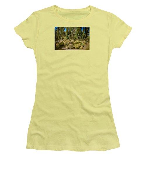 Cactus Balls Women's T-Shirt (Athletic Fit)