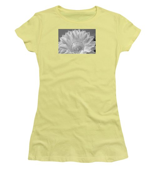 Cactus Bloom Burst Women's T-Shirt (Junior Cut) by Shelly Gunderson
