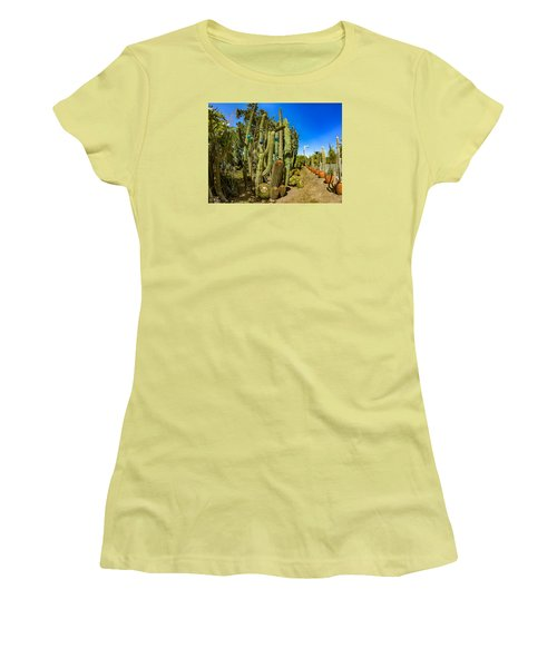 Cactus Street Women's T-Shirt (Athletic Fit)