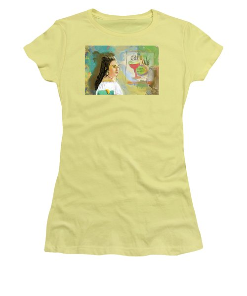 Cafe Ole Girl Women's T-Shirt (Athletic Fit)