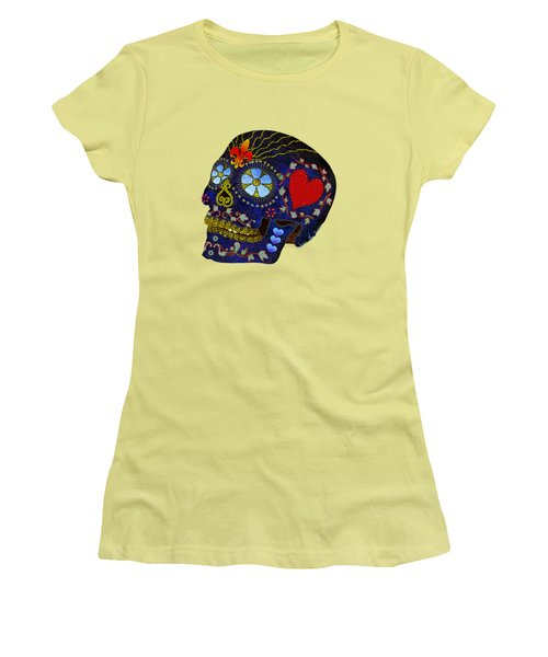 Calavera Del Azucar Women's T-Shirt (Athletic Fit)