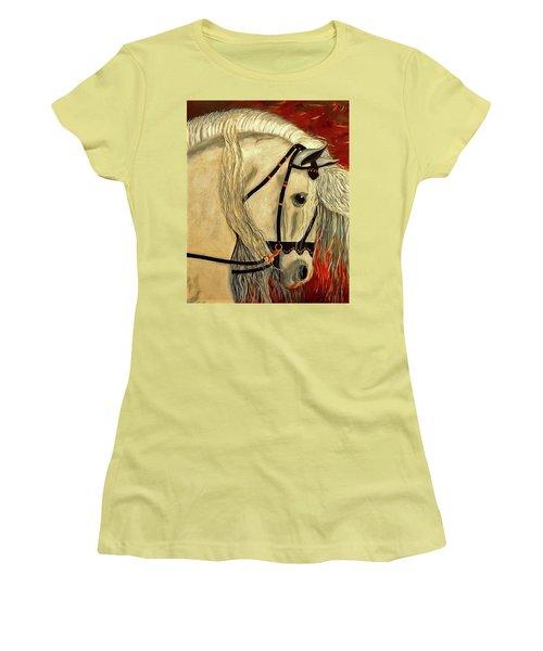 Califa Women's T-Shirt (Junior Cut) by Manuel Sanchez