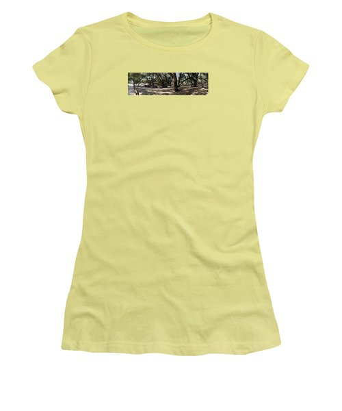 California Canyon Canopy Women's T-Shirt (Athletic Fit)