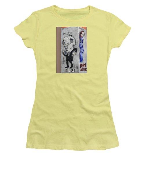 Calle Ocho Art Women's T-Shirt (Athletic Fit)