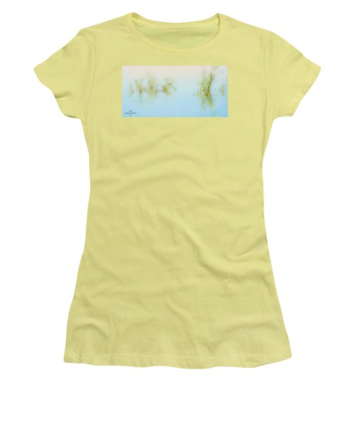 Calm Women's T-Shirt (Junior Cut) by Josephine Buschman