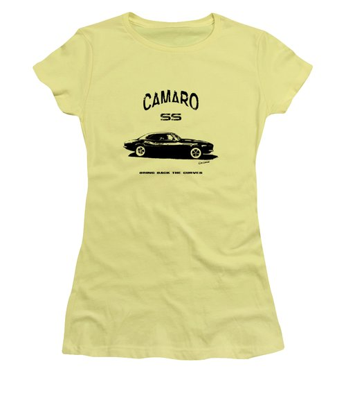 Camaro Ss V.2 Women's T-Shirt (Athletic Fit)