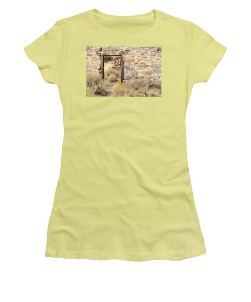 Doorway To Nowhere Women's T-Shirt (Athletic Fit)