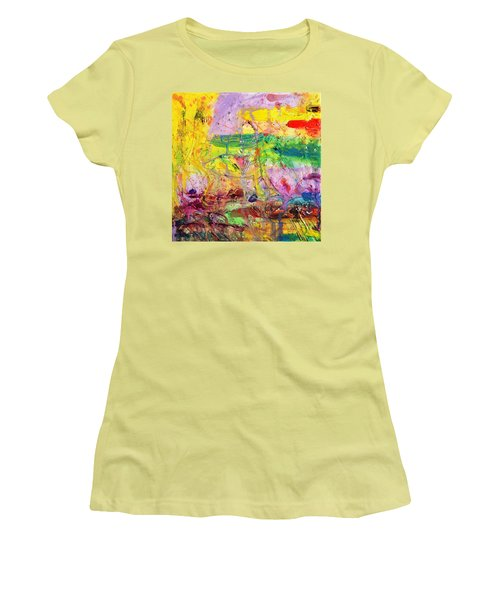 Camouflage Women's T-Shirt (Junior Cut)