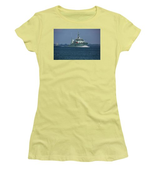 Canadian Navy's Kingston Women's T-Shirt (Athletic Fit)