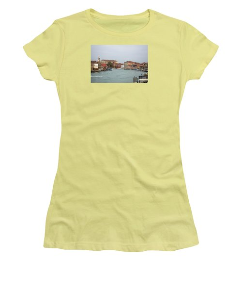 Canal Of Murano Women's T-Shirt (Athletic Fit)