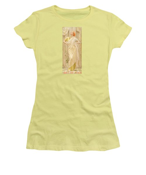 Canaries Women's T-Shirt (Junior Cut) by Albert Joseph Moore