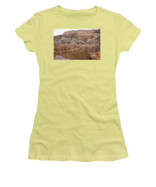 Canyon River Women's T-Shirt (Athletic Fit)