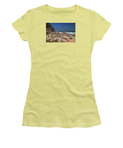Cape Of Good Hope Women's T-Shirt (Junior Cut) by Bev Conover