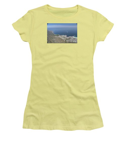 Capetown, South Africa Women's T-Shirt (Junior Cut) by Bev Conover