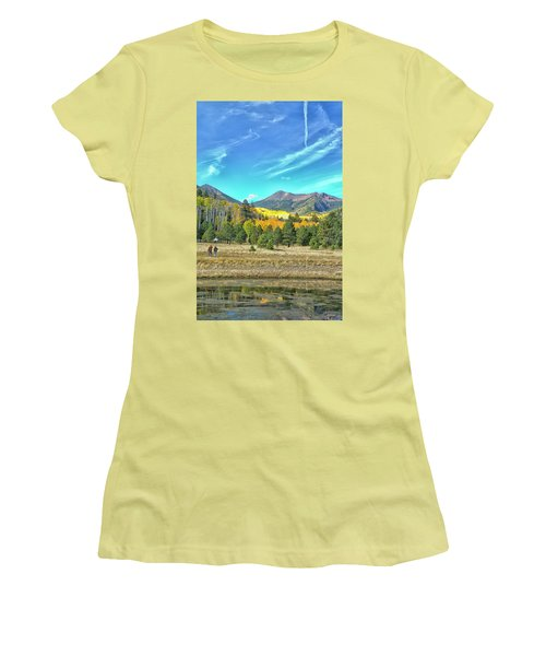 Captured Women's T-Shirt (Junior Cut) by Tom Kelly