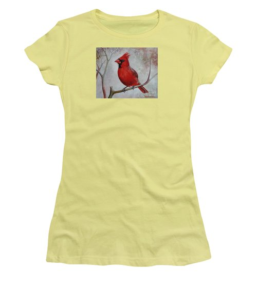 Cardinal Women's T-Shirt (Junior Cut)