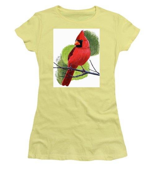 Cardinal1 Women's T-Shirt (Junior Cut)