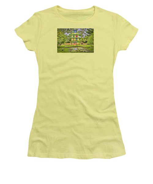 Caribbean Home Women's T-Shirt (Athletic Fit)