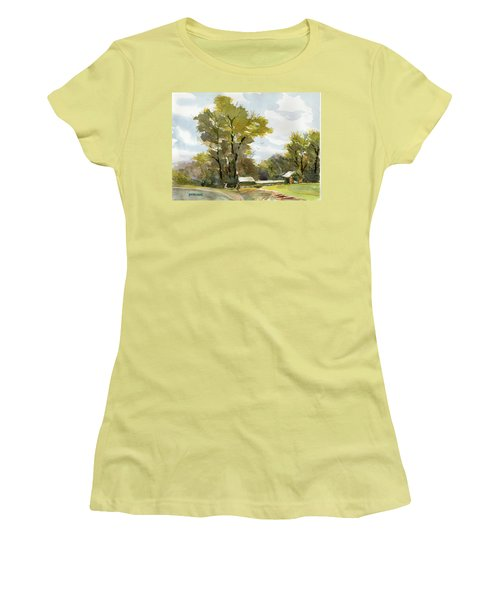 Carolina Farm Field Women's T-Shirt (Athletic Fit)