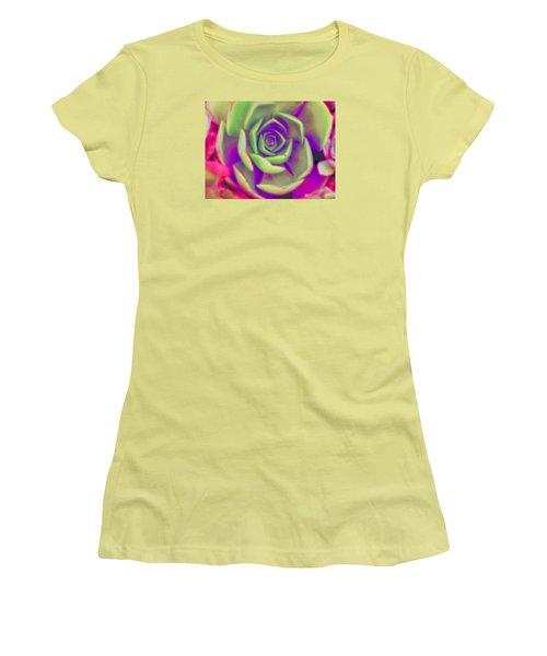 Carousel Women's T-Shirt (Junior Cut) by Vivien Rhyan
