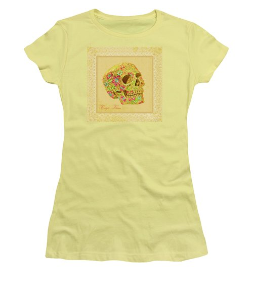 Carpe Diem Women's T-Shirt (Junior Cut) by Olga Hamilton