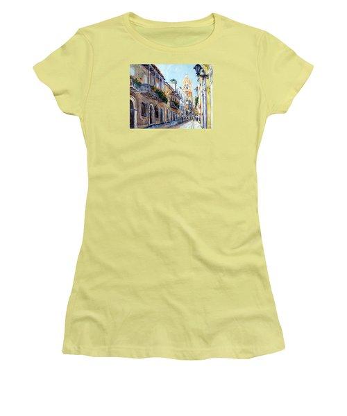 Cartagena Colombia Women's T-Shirt (Junior Cut) by Alexandra Maria Ethlyn Cheshire