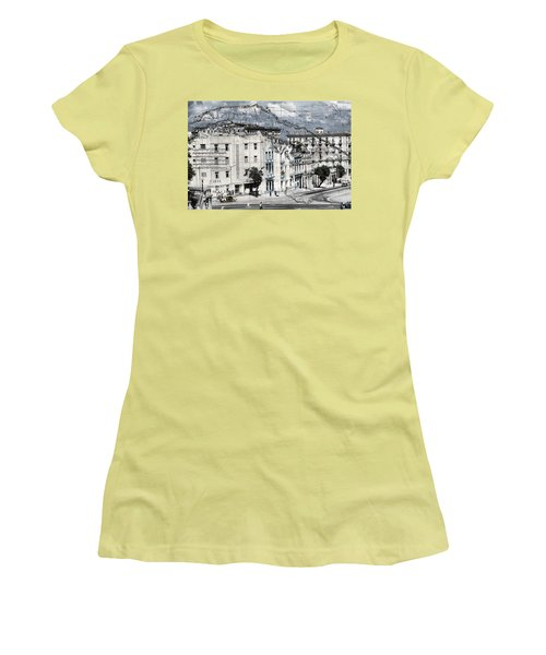 Carte Isle De Cuba Women's T-Shirt (Athletic Fit)