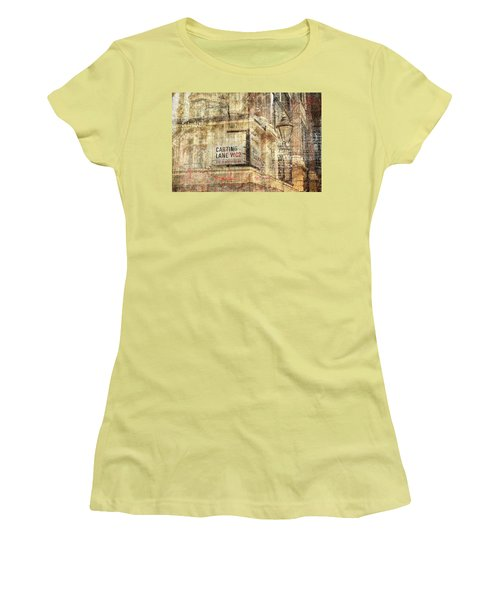 Carting Lane, Savoy Place Women's T-Shirt (Junior Cut) by Nicky Jameson