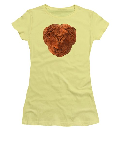 Carved Women's T-Shirt (Junior Cut) by Lyle Hatch