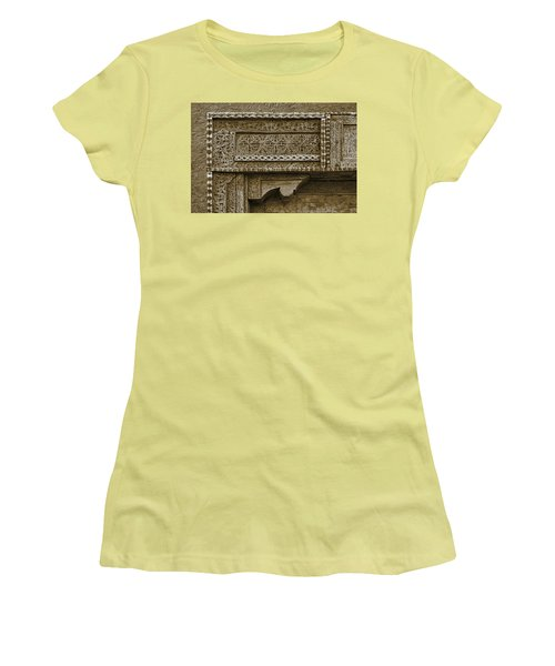 Women's T-Shirt (Junior Cut) featuring the photograph Carving - 3 by Nikolyn McDonald