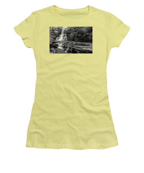 Cascades Waterfall Women's T-Shirt (Athletic Fit)
