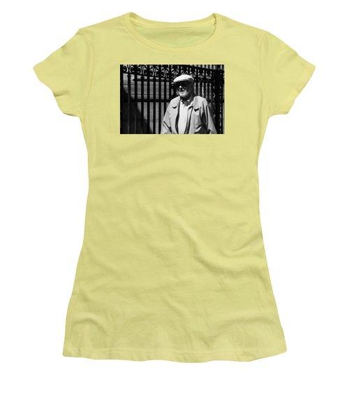 Cast Iron Women's T-Shirt (Athletic Fit)