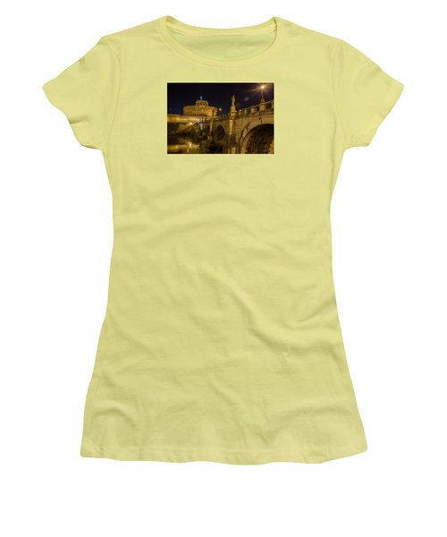 Castel Sant'angelo Women's T-Shirt (Athletic Fit)