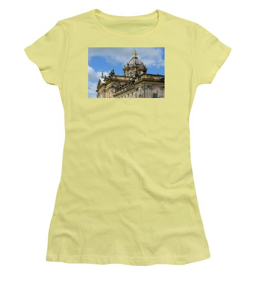 Castle Howard Roofline Women's T-Shirt (Athletic Fit)