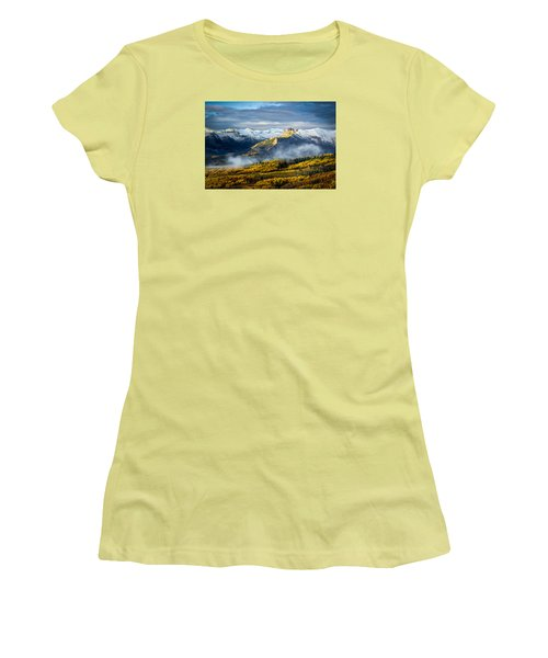 Castle In The Clouds Women's T-Shirt (Athletic Fit)