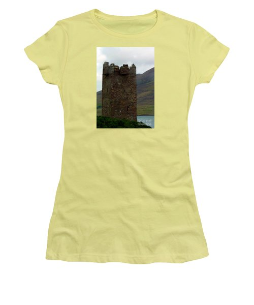 Castle Of The Pirate Queen Women's T-Shirt (Junior Cut) by Patricia Griffin Brett