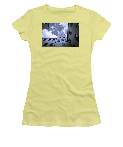 Women's T-Shirt (Junior Cut) featuring the photograph Castle by Sergey Simanovsky