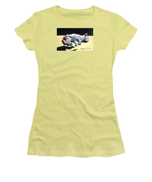 Cat-1 Women's T-Shirt (Athletic Fit)