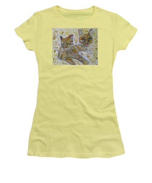 Cat Named Phoenicia Women's T-Shirt (Athletic Fit)