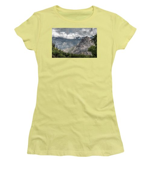 Catalina Mountains Women's T-Shirt (Athletic Fit)
