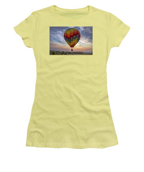Women's T-Shirt (Junior Cut) featuring the photograph Catch The Breeze by Mitch Shindelbower