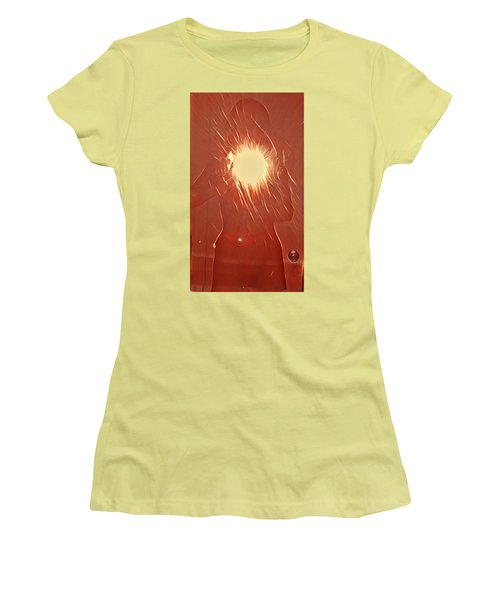 Catching Fire Women's T-Shirt (Athletic Fit)