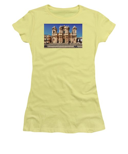 Cathedral II Women's T-Shirt (Junior Cut) by Patrick Boening